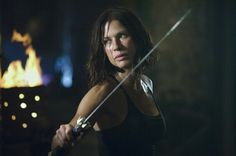 Forget pistols or rocket launchers being the accessory of choice, swords are what all the cool warrior women are wearing these days, and these 31 fictional female characters show how true that is. Female Vampire, Buffy The Vampire, Julia Voth, Barbarian Woman, The Mask Of Zorro, Rhona Mitra, Warrior Girl, Warrior Women, Warrior Princess