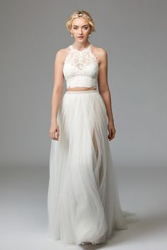 Peyton Top 57125 Brides Willowby By Watters Wedding Dress Sample Two Piece
