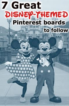 7 awesome Disney pinterest boards including @AJ Wolfe (Disney Food Blog)'s Disney Food Blog!