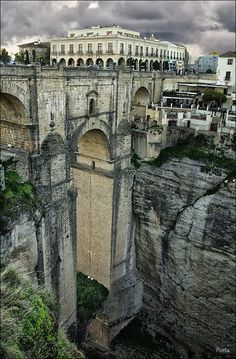 Ronda - Málaga, Spain looks like we have to go back to Malaga ; Places Around The World, Oh The Places You'll Go, Places To Travel, Places To Visit, Around The Worlds, Ronda Malaga, Voyage Europe, Spain And Portugal, Europe Destinations