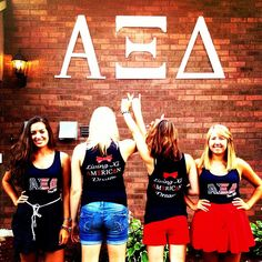 all american AXiD! - great photo opp and amaxing shirts!!