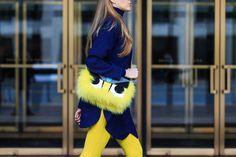 Streetlooks à la Fashion Week de New York.