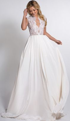 This is pretty for a pre-wedding dress as well...i would shorten it