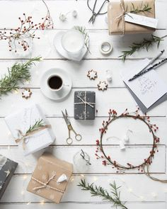 Feeling festive? Gift wrapping with @thewhitecompany