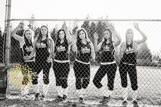Seniors, team sports photos, teams, softball, girls softball team www. Senior Softball, Softball Players, Girls Softball, Softball Stuff, Softball Chants, Volleyball Quotes, Cheer Stuff, Softball Team Pictures, Baseball Pictures
