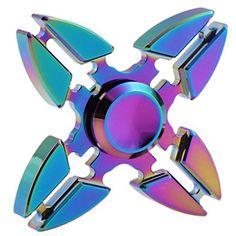 Hand Spinner coloré en alliage d'aluminium