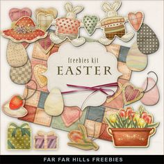 Far Far Hill--New Freebies Easter Kit