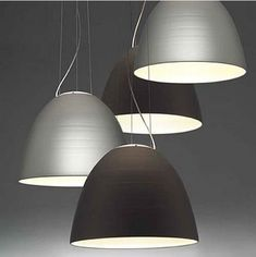 iluminacion interior oficinas, lampara artemide NUR 4