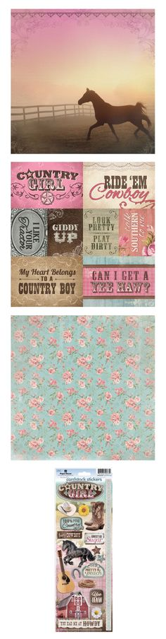 Country Girl Collections - Paper House CHA 2014 Sneak Peek