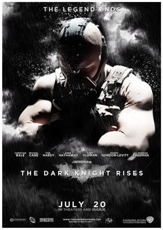 The Dark Knight Rises poster... yet another poster!