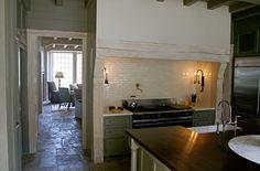 inspiration for range area between kitchen/gathering room (architect ruard veltman)