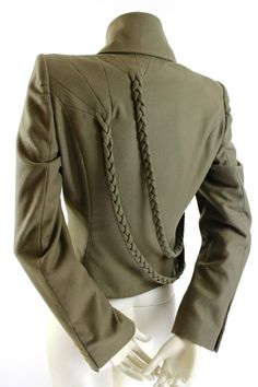 Everyday Outfits: Jackets and Blazers: Alexander McQueen A/W 2001 'What a Merry Go Round' Runway Jacket