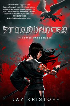 Stormdancer. Japanese Steampunk. This sounds interesting.
