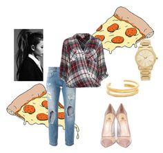 """""""Untitled #92"""" by elleeli ❤ liked on Polyvore featuring Tattly, Dolce&Gabbana, River Island, Semilla, Michael Kors and Madewell"""