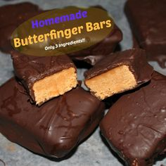Nobody better lay a finger on my homemade butterfinger! Seriously, they might lose a finger or two if they do!   Now I'll admit, these are...