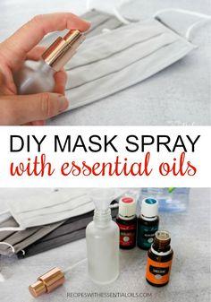 DIY Mask Spray with Essential Oils