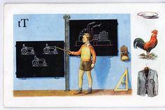učebnice a naučné : ŽIVÁ ABECEDA ‒ Čížek, Baumruck, Karel Baseball Cards, Sports, Historia, Tree Structure, Nostalgia, Hs Sports, Sport