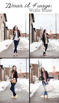 Wear it 4 Ways: Wallis Blazer | Fashion | Style | Outfit | Blogger | Chic