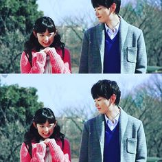 Que fofinhos! Fated To Love You, Kiss Me Love, Itazura Na Kiss, Japanese Drama, Japanese Men, Live Action, Dramas, Yuki Furukawa, Love 020