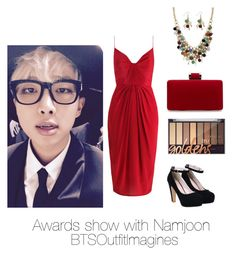 """Awards show with Namjoon"" by bts-outfit-imagines on Polyvore featuring Zimmermann and Palm Beach Jewelry"