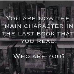 The main Character? Would that make me Sherlock or Watson? The entire story is told from Watson's point of view, but I think Sherlock is the main Character