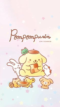 cute wallpapers for mobile with Sanrio characters, Hello Kitty, My Melody, and Gudetama among others! Rilakkuma Wallpaper, Sanrio Wallpaper, Kitty Wallpaper, Kawaii Wallpaper, Sanrio Characters, Cute Characters, Cute Mobile Wallpapers, My Melody Wallpaper, Sanrio Danshi