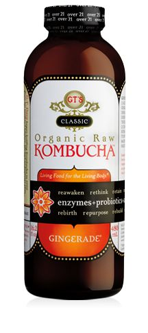 GINGERADE® -- The healing power of GT's Kombucha and the balancing and cleansing abilities of fresh-pressed ginger juice.