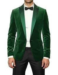 Did l say it's Christmas break out the green tuxedo