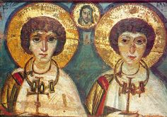 The Holy Martyrs Sergius and Bacchus