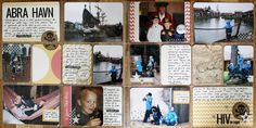 Andrine & Marens Landhandleri Project Life, Scrap, Photo Wall, Pocket, Frame, Projects, Blog, Home Decor, Picture Frame