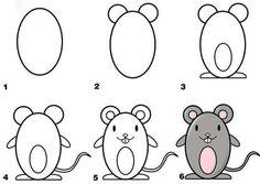 Como dibujar un raton