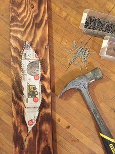 DIY Feather String Art