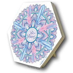 Be Free Mandala Plywood Hexagon Freestanding Plaque from the Cherish You Range by Lisa Pollock Metal Garden Art, Bar Signs, Beach House Decor, Mandala Design, Soy Candles, Dream Big, Brave, Buddha, Lisa