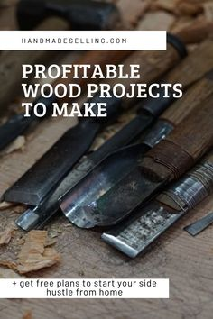 Know About the Profitable Wood Projects to Make From Home + Get Free Plans to Start Your Side Hustle From Home Woodworking Projects That Sell, Responsive Web, Free Plans, How To Plan, How To Make, Hustle, Wood Crafts, Wood Projects, Web Design