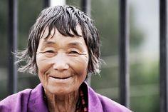 Bhutan woman by Chetan R