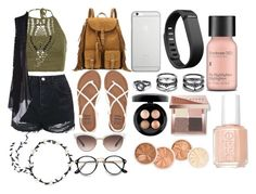 """""""Untitled #12"""" by amieesummers ❤ liked on Polyvore featuring Topshop, Cosabella, New Look, Billabong, Yves Saint Laurent, Gucci, Native Union, Fitbit, LULUS and Perricone MD"""