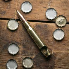 50 Caliber Bullet Bottle Opener - Cool Material