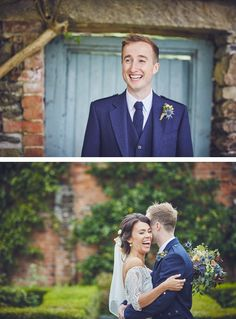 Some of our favourite photos from Emma and Ross's laughter-filled wedding day at the stunning Kingston Estate in Devon by team of two documentary wedding photographers Nova Emma Ross, Kingston, Devon, Documentaries, Nova, Groom, Wedding Day, Wedding Photography, Bride