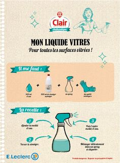 Clair authentique Green Tips, Natural Solutions, Natural Cleaning Products, Positive Attitude, Body Image, The Body Shop, Better Life, Clean House, Diy Beauty