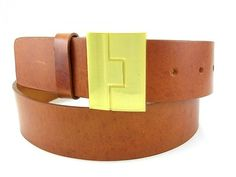 Unlined Leather with Jigsaw Buckle