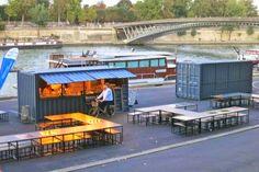 Logistyka Morska: Kontener morski jako kawiarnia, sklep, bar