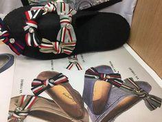 Fiocchi  già pronti per scarpette  http://ift.tt/2FglAxE #cuciescuci #cuciescuci