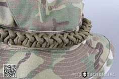 Boonie Hat Paracord Storage Sinnet: A Quick-Release Method to Store 550 Cord