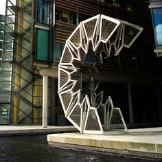 Rolling Bridge @ Paddington Basin, London