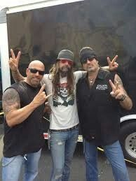 This picture says all..but their name can be The Geniously Club...Kevin, the master Rob Zombie and Danny the Count....without words to describe all the things that their photo shows....