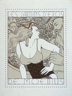 Les Jardins d'Eros (Portfolio) (Limited Edition Prints) (Signed) art by Moebius (Jean Giraud)