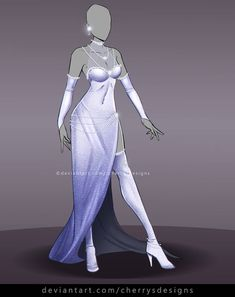 Find my designs in video-games like Dead or Alive 5 and Nebula Realms on Gallery Join my Outfit Adopt group and. Clothing Sketches, Dress Sketches, Dress Drawing, Drawing Clothes, Fashion Design Drawings, Fashion Sketches, Character Costumes, Character Outfits, Queen Outfit