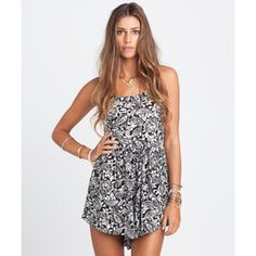 BILLABONG SHORTS DANCING SHORES ROMPER