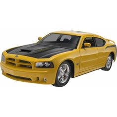 First car model I completed :-), Revell Dodge Charger SRT8 Super Bee Plastic Model Kit