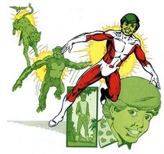 Changeling of the Teen Titans.  Drawn by George Perez.